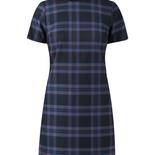 New_Look_£24.99 Navy Check Slim Fit Tunic Dress