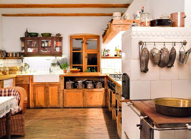 Rustic, Interiors and Kitchens on Pinterest